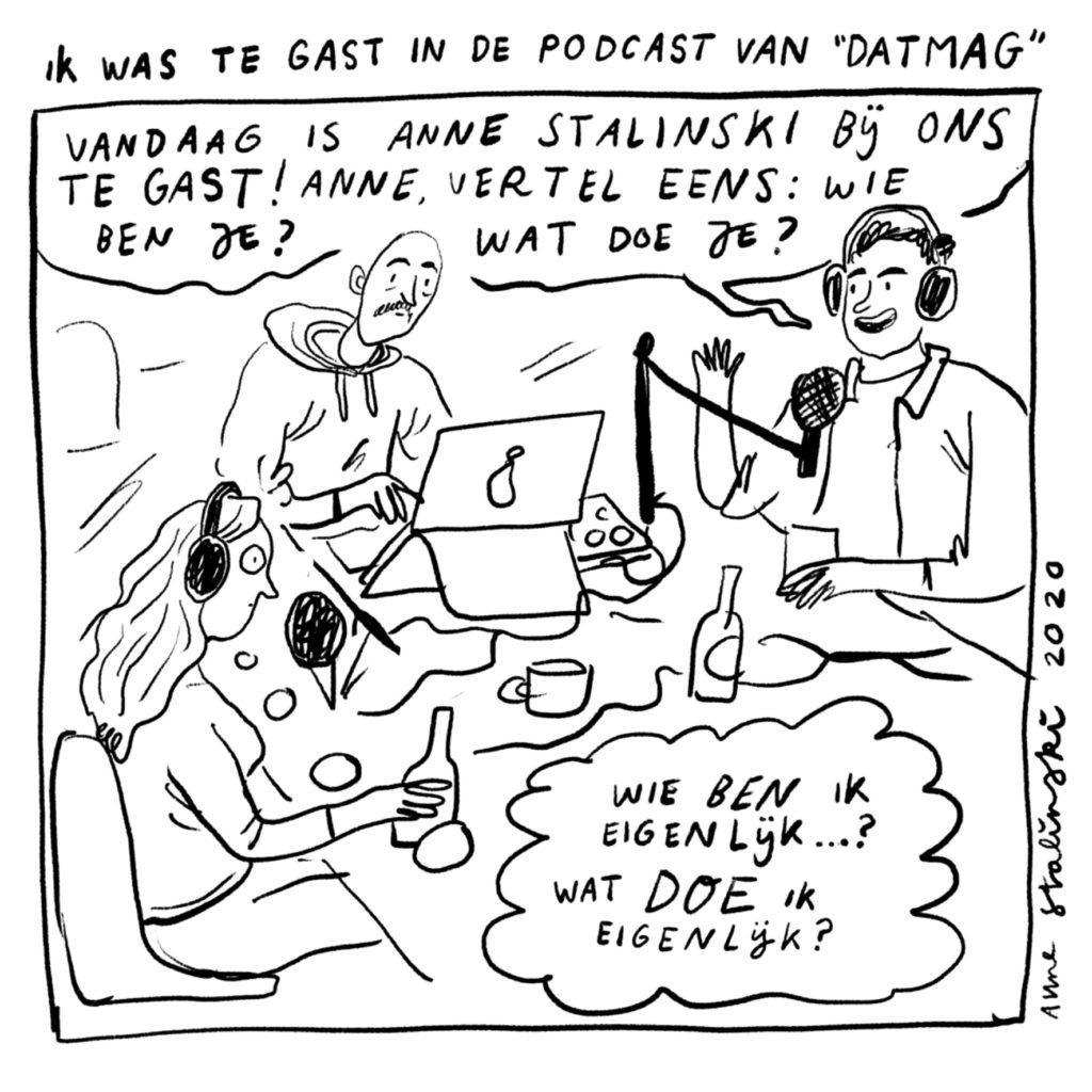 Comics, Anne Stalinski, interview